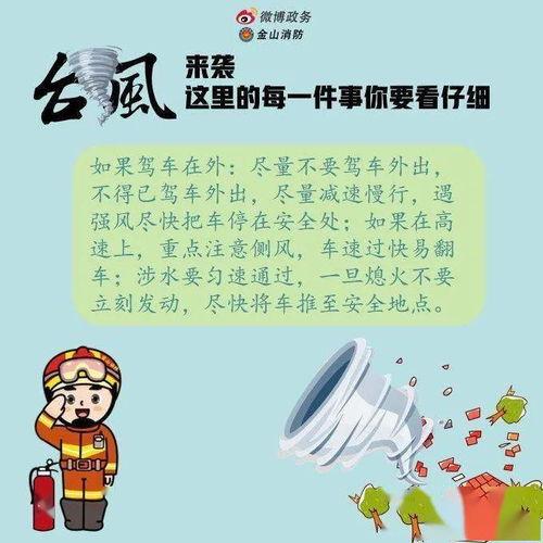 儿童防台风安全小知识