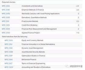 经济与金融专业的分类