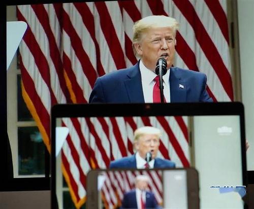 特朗普宣布终止与世卫组织关系美国