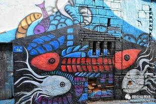 到底谁干的 翔安这里惊现一个 涂鸦村 ,堪称厦门版的彩虹眷村