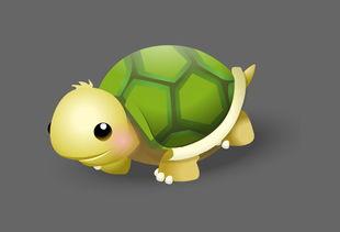 可爱小乌龟flash动画素材下载 素材下载城