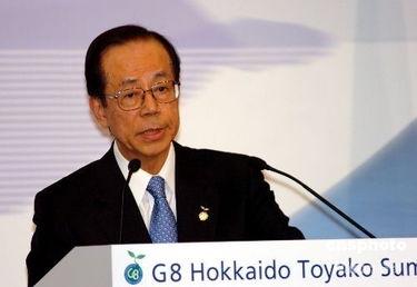 资料图:日本首相福田康夫.