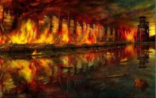 关于诸葛亮火烧赤壁的议论文