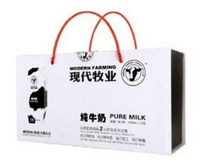 现代牧业 用十年书写中国牛奶传奇