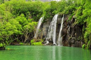 世界著名景点-长白山瀑布