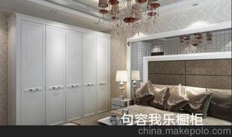 白木纹衣柜