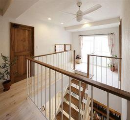 楼梯设计-美观收纳两不误 88㎡日本精致小复式