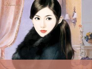 手绘台湾言情小说封面美女人物ps作品欣赏2 16P