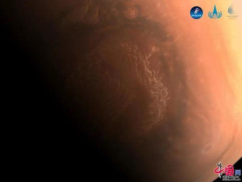 国家航天局发布天问一号探测器拍摄的高清火星影像图图片中国中国网