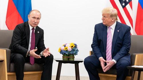 普京和特朗普图源:白宫网站