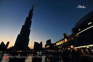 夜游迪拜 逛逛世界上最大的零售商场 组图