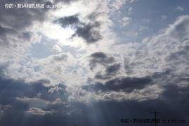 还是蓝色的天空-绝美静谧风光 索尼a55初秋坝上完美体验