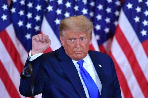 特朗普在白宫圣诞派对上确认参加2024总统竞选,称四年后见