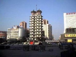 郑州标志性建筑-二七纪念塔