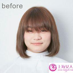 几款圆脸女生适合的短发发型图片