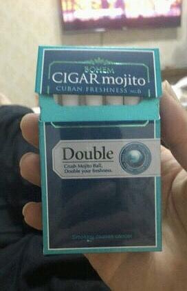 有爆珠的烟(有两个爆珠的香烟)