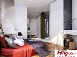 简约风格卧室120平方房子设计图-120平方简约装修效果图 房天下装修...