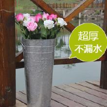 镀锌桶可以养花吗
