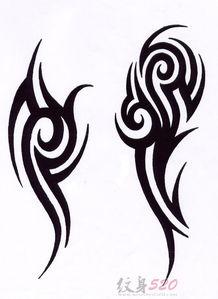 初学者如何画纹身手稿