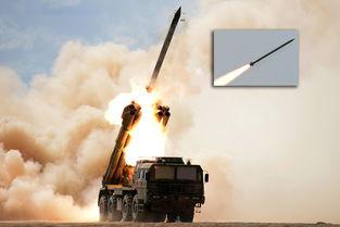 远程火箭炮实弹射击
