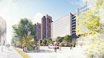 秦汉新城部道路沿线绿化景观概念设计方案 西安特克沃斯景观设计有限公司