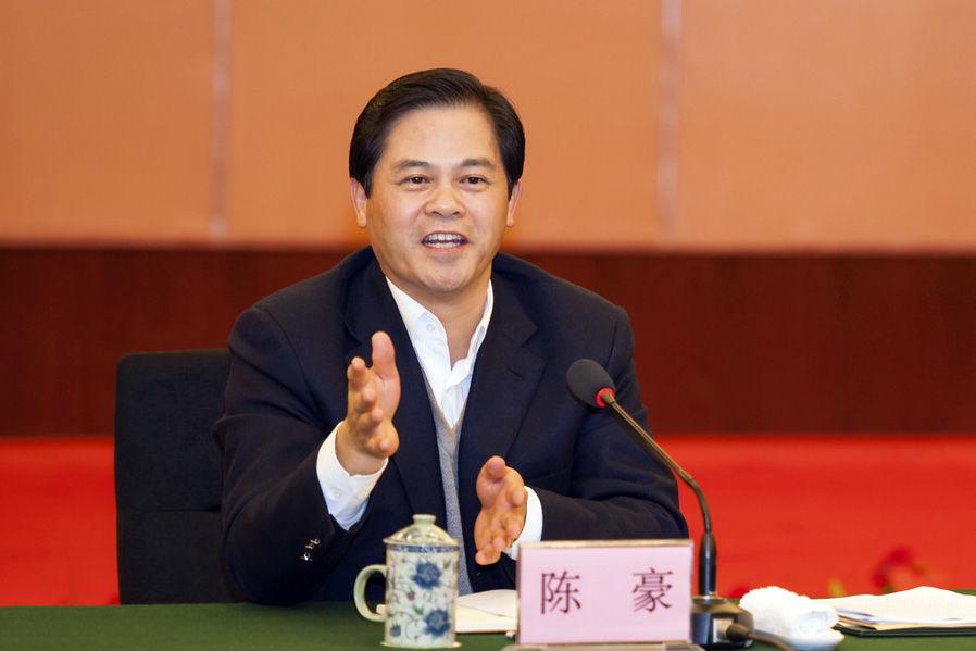 云南省委书记、省长陈豪