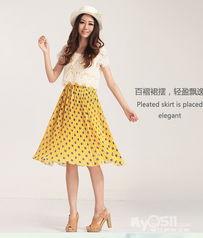 全 新 香影专柜 波点蕾丝长裙,原价399,现价130 闲置转让