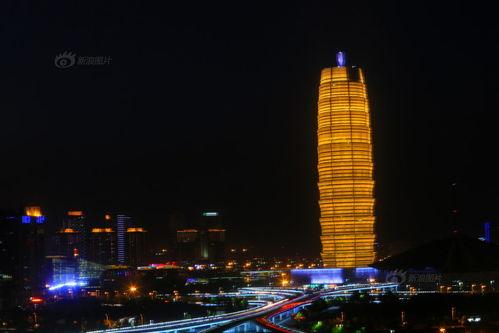 郑州中原第一高楼被戏称大玉米
