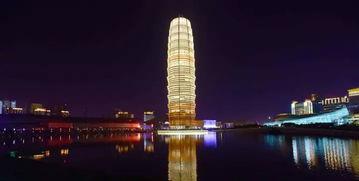 接着同样是郑州的地标建筑:中原福塔