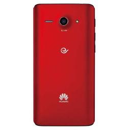华为手机C8813Q 红色