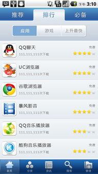 手机软件管家UI界面设计