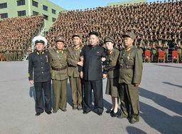 朝鲜举行 2万人连长 大会 金正恩出席 高清组图