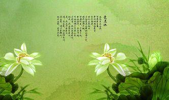 爱莲说古诗词网
