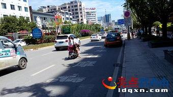 兴义城区今日起骑摩托车不靠右行要被处罚