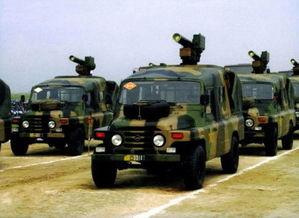 中国红箭-8型车载反坦克导弹系统