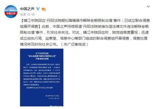 镇江回应制假文书放老赖出境成立联合调查组