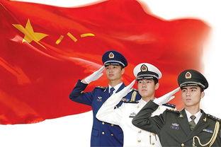 军人军旗漫画