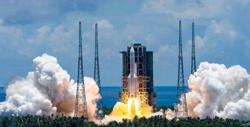 火星探测任务天问一号探测器成功发射组图