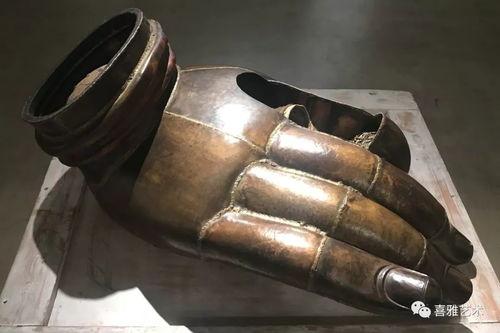 圣洁之地黄钢作品展正在止观美术馆热展