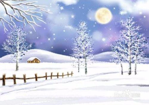 写出关于描写冬天的诗句