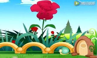 蜗牛和玫瑰树 安徒生