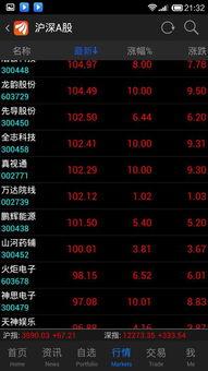 100元以上的股票有哪些?