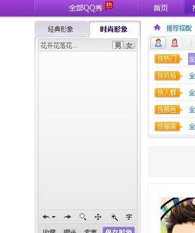 QQ秀商店QQ秀不显示显示是空白的
