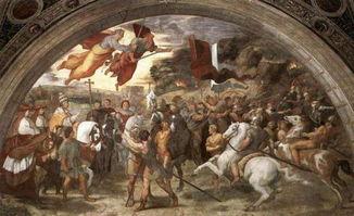 上帝之鞭 在千年之后被拉斐尔狼狈描绘