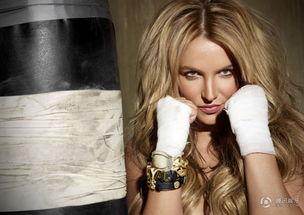 高清 布兰妮减肥成功秀好身材 化身性感拳击手