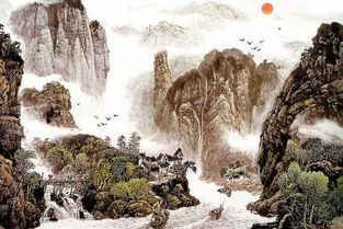 有关描写祖国山川河流的诗词有