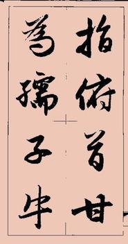 集字(集字怎么组词)