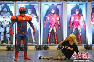 中国首个以城市命名动漫超级英雄 天津侠 亮相 图