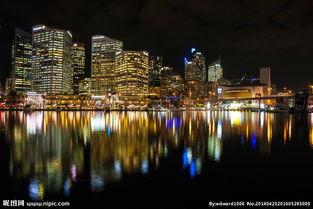 城市夜景城市风光图片