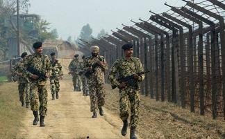 资料图:中印边境的印度士兵